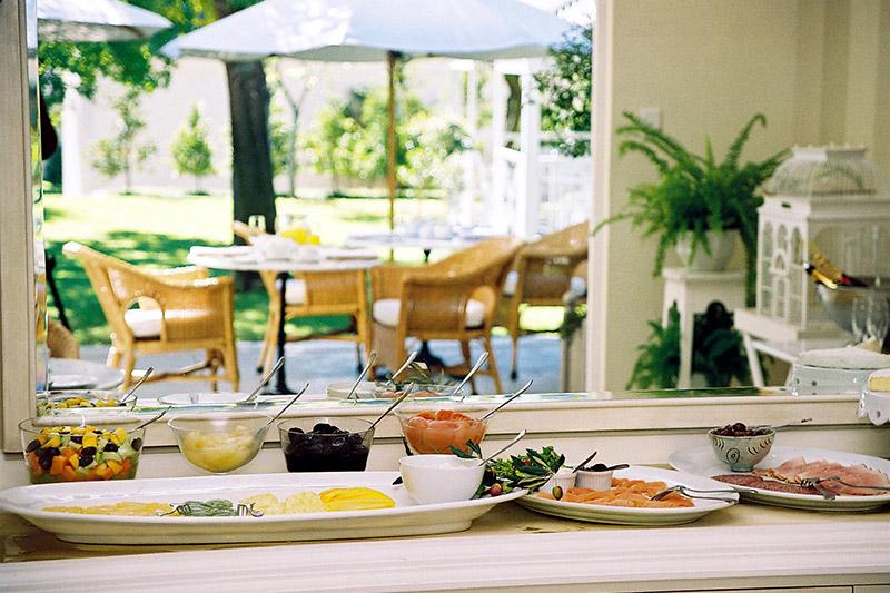 Breakfast at Rosenhof Country House