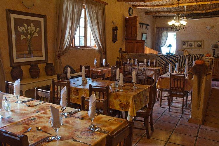 De Oude Meul Restaurant Oudtshoorn