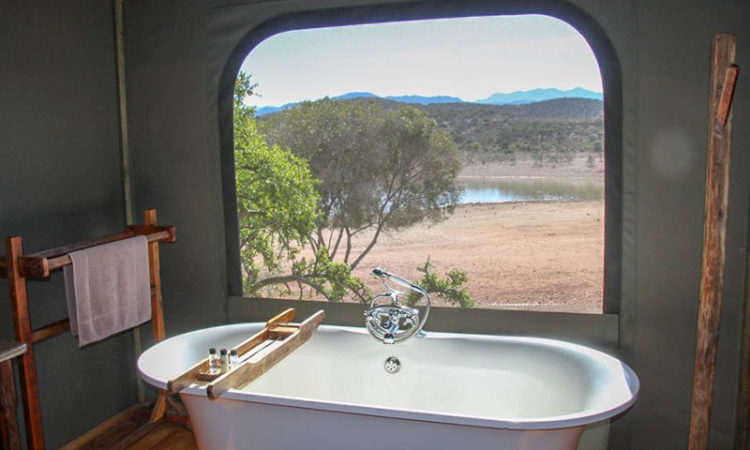 Luxury Tent Bathroom
