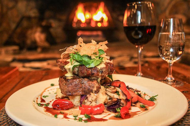 Flamed Grilled Steak