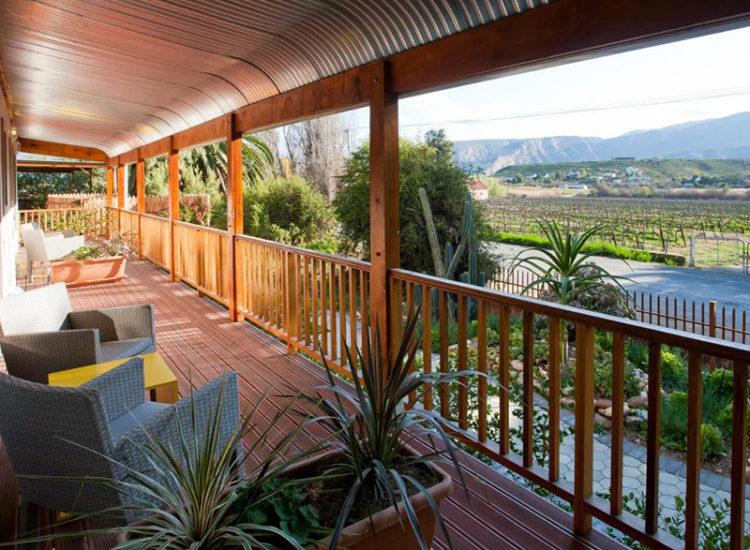 Balcony View over Vinyards